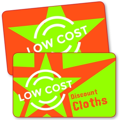 Cartes Low Cost Polyester Lamine Economique